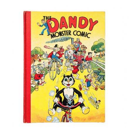 The Dandy Monster Comic 1943 Annual D.C. Thomson 1942